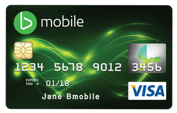 bmobile VISA card